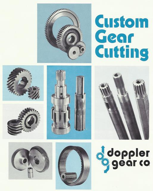 Doppler Custom Gear Cutting