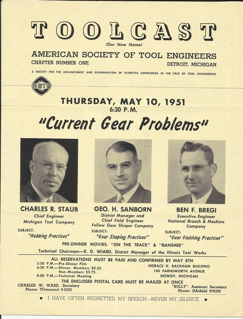 Toolcast, American Society of Tool Engineers