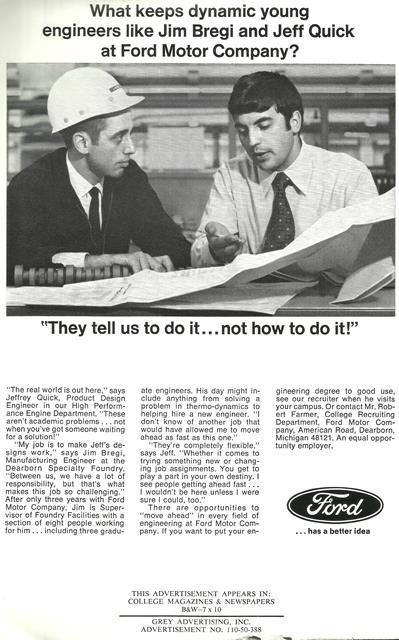 Ford Article on Jim Bregi Sr.